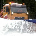 Single-blade snow ploughs