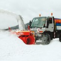 Attachable snow clearing