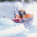 Automotive snow clearing
